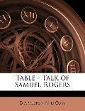Table - Talk of Samuel Rogers