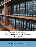 Mechanical Engineering of Power Plants
