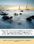 MacRobe, Uvres Complètes Varron, de la Langue Latine Pomponius Méla, Uvres Complètes Avec la Tr