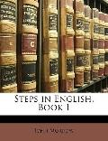 Steps in English, Book