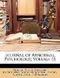 Journal of Abnormal Psychology, Volume 16