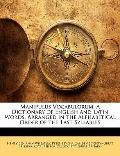 Manipulus Vocabulorum : A Dictionary of English and Latin Words, Arranged in the Alphabetica...