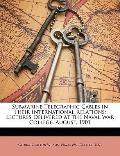 Submarine Telegraphic Cables in Their International Relations : Lectures Delivered at the Na...