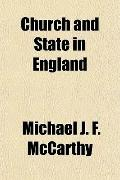 Church and State in England