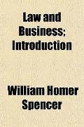 Law and Business; Introduction