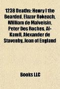 1238 Deaths : Henry I the Bearded, Elazar Rokeach, William de Malveisin, Peter des Roches, A...