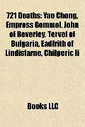 721 Deaths : Yao Chong, Empress Gemmei, John of Beverley, Tervel of Bulgaria, Eadfrith of Li...