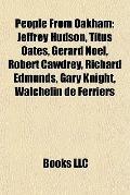 People from Oakham : Jeffrey Hudson, Titus Oates, Gerard Noel, Robert Cawdrey, Richard Edmun...
