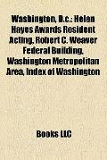 Washington, D C : Helen Hayes Awards Resident Acting, Robert C. Weaver Federal Building, Was...