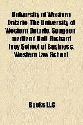 University of Western Ontario : The University of Western Ontario, Saugeen-maitland Hall, Ri...
