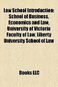 Law School Introduction : School of Business, Economics and Law, University of Victoria Facu...