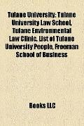 Tulane University : Tulane University Law School, Tulane Environmental Law Clinic, List of T...