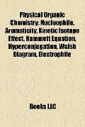 Physical Organic Chemistry : Nucleophile, Aromaticity, Kinetic Isotope Effect, Hammett Equat...