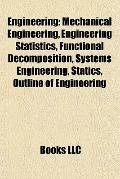 Engineering : Mechanical Engineering, Engineering Statistics, Functional Decomposition, Syst...