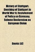 History of Stuttgart : Bombing of Stuttgart in World War Ii, Restatement of Policy on German...