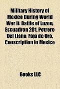 Military History of Mexico During World War II : Battle of Luzon, Escuadrón 201, Potrero Del...