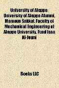University of Aleppo : University of Aleppo Alumni, Mamoun Sakkal, Faculty of Mechanical Eng...
