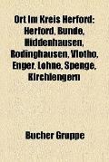 Ort Im Kreis Herford : Herford, Bünde, Hiddenhausen, Rödinghausen, Vlotho, Enger, Löhne, Spe...
