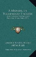 Manual in Elementary English : To Accompany Elementary English, Book One (1922)
