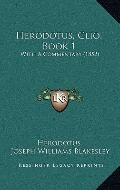 Herodotus, Clio Book : With A Commentary (1852)