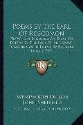 Poems by the Earl of Roscomon : To Which Is Added, an Essay on Poetry by the Earl of Mulgrav...
