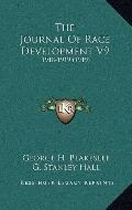 Journal of Race Development V9 : 1918-1919 (1919)