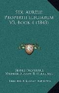 Sex Aurelii Propertii Elegiarum V3, Book
