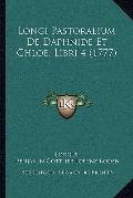 Longi Pastoralium de Daphnide et Chloe, Libri