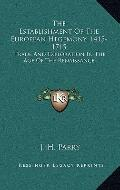 Establishment of the European Hegemony, 1415-1715 : Trade and Exploration in the Age of the ...