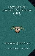Lectures On History Of England (1893)