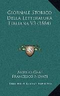 Giornale Storico Della Letteratura Italiana V3