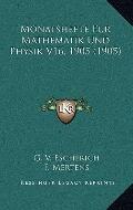 Monatshefte Fur Mathematik und Physik V16 1905