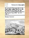 Account of the Expedition to the West Indies, Against Martinico, with the Reduction of Guade...