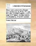 More Lyric Odes to the Royal Academicians, by Peter Pindar, Esquire a Distant Relation of th...