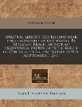 Spiritual melody, containing near three hundred sacred hymns. By Benjamin Keach, author of T...