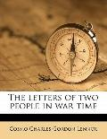 Letters of Two People in War Time