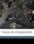Years of Childhood