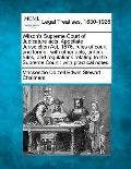 Wilson's Supreme Court of Judicature acts, Appellate Jurisdiction Act, 1876, rules of court ...