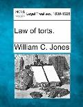 Law of torts.
