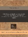 Ophthalmographia, sive, Oculi ejusque partium descriptio anatomica / per Guilielmum Briggs. ...
