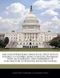 Military Operations: High-Level DOD Action Needed to Address Long-standing Problems with Man...