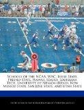 Schools of the NCAA, WAC: Boise State, Fresno State, Hawaii, Idaho, Louisiana Tech, Universi...