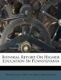 Biennial Report On Higher Education In Pennsylvania