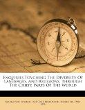 Enqviries Tovching The Diversity Of Langvages, And Religions, Through The Chiefe Parts Of Th...