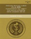 Enhancing Electronic Medical Records Implementation : Peer Support Interventions Influencing...