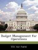 Budget Management for Operations