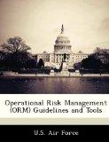 Operational Risk Management (ORM) Guidelines and Tools