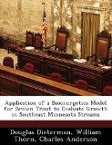 Application of a Bioenergetics Model for Brown Trout to Evaluate Growth in Southeast Minneso...