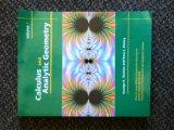 Calculus and Analytic Geometry Volume 1