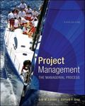 Project Management: The Managerial Process with MS Project (The Mcgraw-Hill Series Operation...